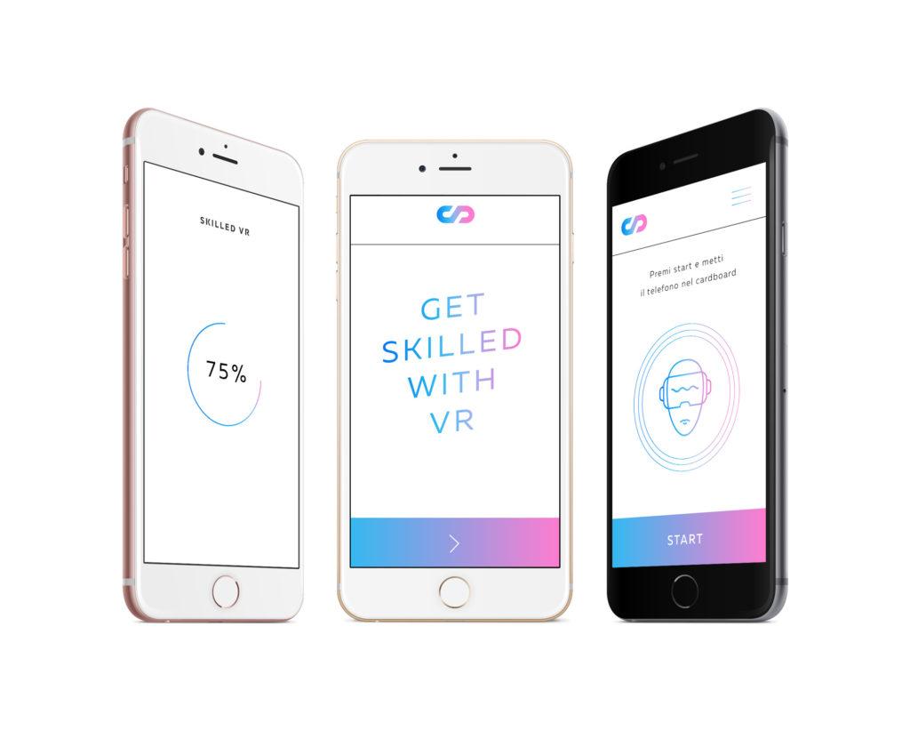 Skilled VR - Mockup