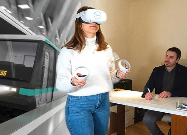 Psicologo usa Realtà Virtuale a studio